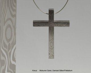 3. Kreuz Mokume Silber Palladium_600