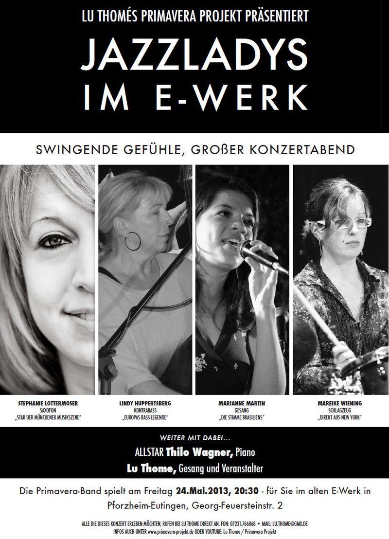 Flyer - Primavera 24.05.13 Jazzladys