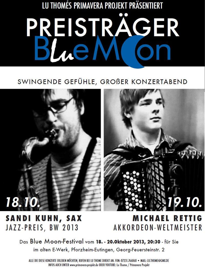 Flyer - Bluemoon Festival 2013 - Preisträger