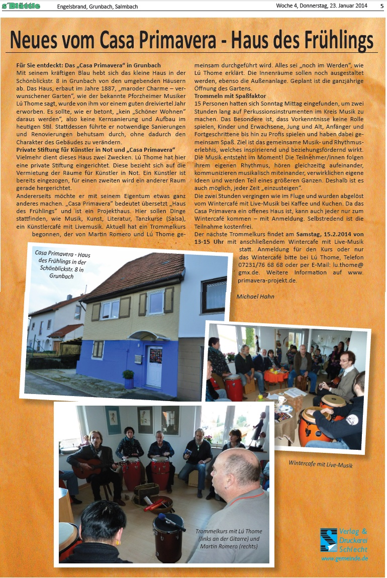 Casa Primavera - Grunbach