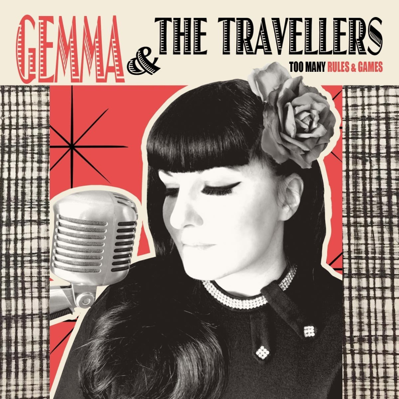 Cover Gemma & The Travellers - Too Many Rules & Games